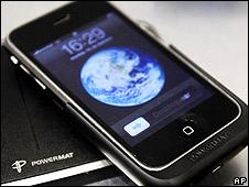 Imagen de archivo de un iPhone