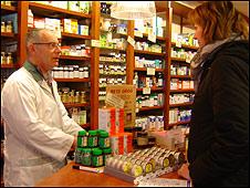 Farmacia en Europa