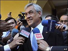 Sebastian Piñera, Presidente electo de Chile.