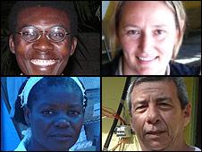 Entrevistados por la BBC en Leogane