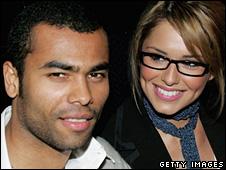 شيريل كول وزوجها لاعب الكرة آشلي كول