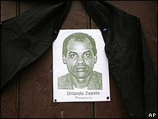 Velorio en La Habana por la muerte del disidente cubano Orlando  Zapata Tamayo