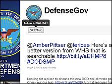 امریکی فوج کے لیے ٹوئٹر