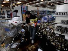 Saqueos tras terremoto en Chile