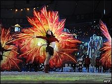 Ceremonia de clausura de los juegos de Vancouver