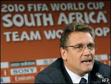 O secretário-geral da Fifa, Jerome Valcke (arquivo)
