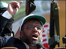 Jeque Hassan Yousef, uno de los fundadores de Hamas, imagen de  archivo
