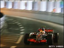A Formula 1 racing car