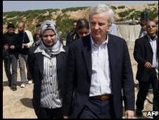 جان هولمز در غزه