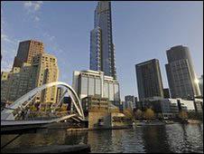 مدينة ملبورن الاسترالية