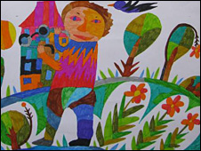 Однокрилий соловейко допомагає дітям