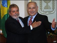Em Israel, Lula critica assentamentos e defende Estado palestino