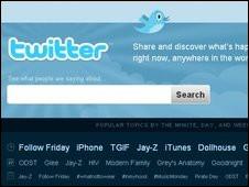 Mensaje en Twitter