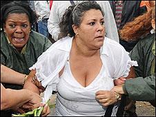 Protesta de las Damas de Blanco en Cuba