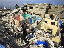 Ruinas en Puerto Príncipe, Haití