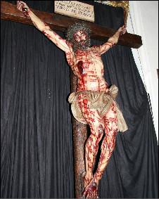 Imagem de Cristo crucificado (Foto: Divulgação da Universidade de Córdoba)
