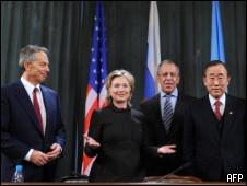 Quarteto exorta Israel a congelar assentamentos judaicos