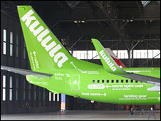 Avión de la aerolínea kulula.com (Foto: kulula.com)