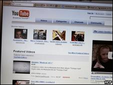 Imagen de página de YouTube