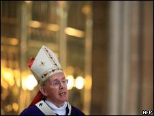 El cardenal Sean Brady