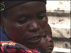 Vestine, a Rwandan Hutu refugee
