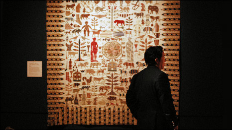 quilt exhibition at the V&A