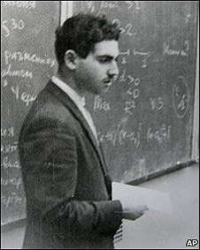 Grigori Perelman en su juventud (Foto de archivo)