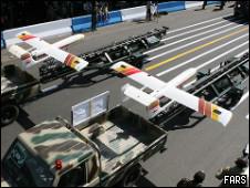 هواپیمای بدون سرنشین ایرانی - عکس   از خبرگزاری فارس