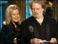 Anni-Frid Lyngstad e Benny Andersson