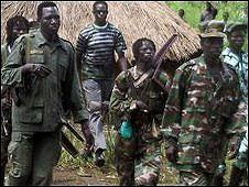 Tentara Pembebasan Tuhan, Kongo
