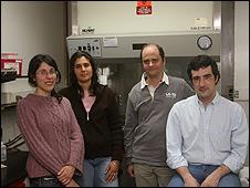 Equipo de investigadores del Instituto Leloir