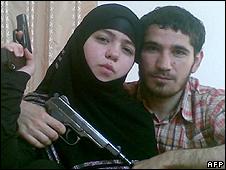 Джанет Абдурахманова с мужем