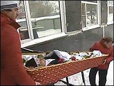 Víctima de abuso de heroína en Rusia