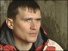 Sergei, ex adicto a la heroína.