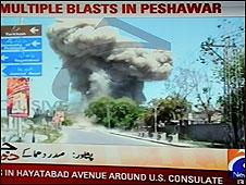 Bomba no Paquistão