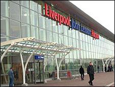 Aeroporto John Lennon, em Liverpool (arquivo)