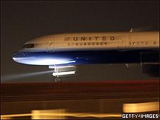 Avião da United Airlines em Denver