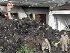 Deslizamento no Morro do Bumba, em Niterói. Foto: AP/ Felipe Dana