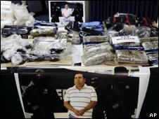 Incautación de droga (foto archivo).