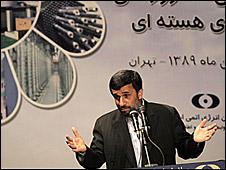 O presidente iraniano, Mahmoud Ahmadinejad (arquivo)