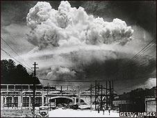 EXplosión sobre Hiroshima
