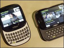 Los teléfonos Kin de Microsoft