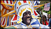 Masquerader in the Bahamas Junkanoo