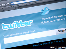 Site de relacionamentos Twitter