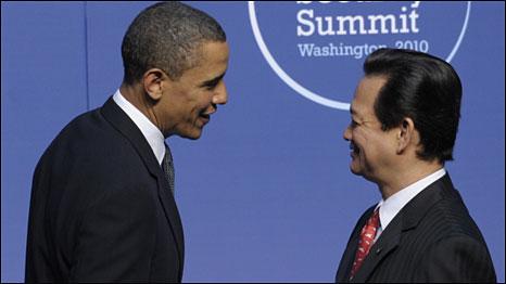 Thủ tướng Nguyễn Tấn Dũng và Tổng thống Barack Obama