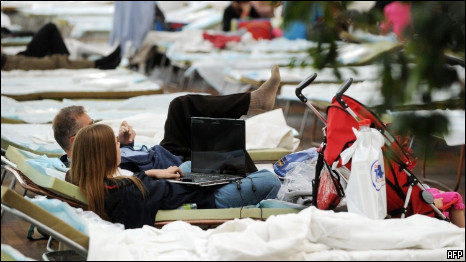 Аэропорт в Мюнхене парализован