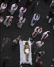 Pascua en Tandil, Argentina