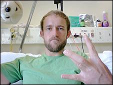Christiaan Van Vuuren, foto retirada de sua página no Facebook (arquivo pessoal)