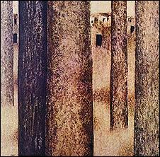 تابلویی از مجموعه درختهای سهراب سپهری