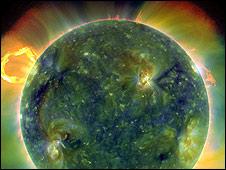 Imagen del sol tomada por la sonda SDO. Foto cortesía NASA